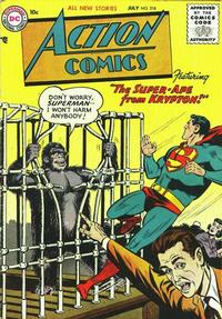 Cover Thumbnail for Action Comics (DC, 1938 series) #218