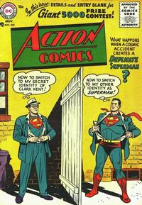 Cover Thumbnail for Action Comics (DC, 1938 series) #222