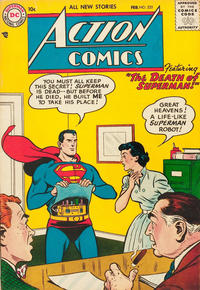 Cover Thumbnail for Action Comics (DC, 1938 series) #225