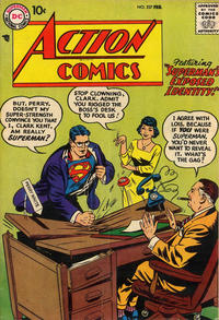 Cover Thumbnail for Action Comics (DC, 1938 series) #237