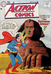Cover Thumbnail for Action Comics (DC, 1938 series) #240