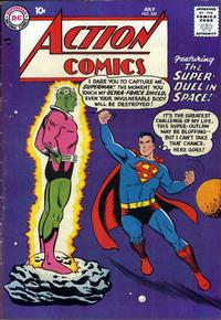 Cover Thumbnail for Action Comics (DC, 1938 series) #242