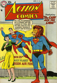 Cover Thumbnail for Action Comics (DC, 1938 series) #243