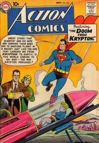 Cover Thumbnail for Action Comics (DC, 1938 series) #246
