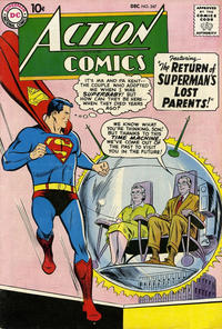 Cover Thumbnail for Action Comics (DC, 1938 series) #247