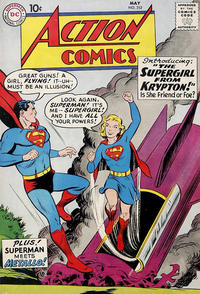 Cover Thumbnail for Action Comics (DC, 1938 series) #252