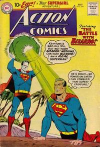 Cover Thumbnail for Action Comics (DC, 1938 series) #254