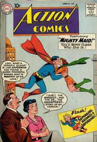 Cover Thumbnail for Action Comics (DC, 1938 series) #260