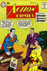 Cover Thumbnail for Action Comics (DC, 1938 series) #264