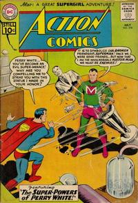 Cover Thumbnail for Action Comics (DC, 1938 series) #278
