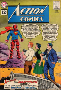 Cover Thumbnail for Action Comics (DC, 1938 series) #283
