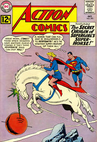 Cover Thumbnail for Action Comics (DC, 1938 series) #293