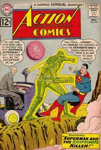 Cover Thumbnail for Action Comics (DC, 1938 series) #294