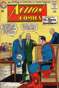 Cover Thumbnail for Action Comics (DC, 1938 series) #301