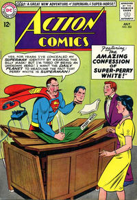Cover Thumbnail for Action Comics (DC, 1938 series) #302