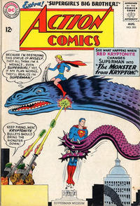 Cover Thumbnail for Action Comics (DC, 1938 series) #303