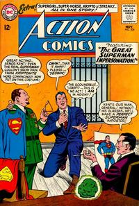 Cover Thumbnail for Action Comics (DC, 1938 series) #306