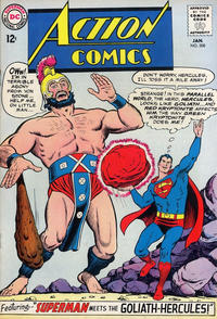Cover Thumbnail for Action Comics (DC, 1938 series) #308