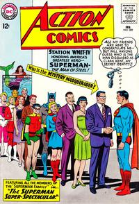 Cover Thumbnail for Action Comics (DC, 1938 series) #309