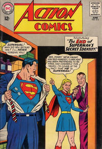 Cover Thumbnail for Action Comics (DC, 1938 series) #313