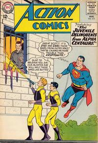 Cover Thumbnail for Action Comics (DC, 1938 series) #315