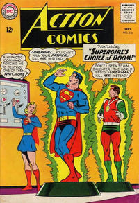 Cover Thumbnail for Action Comics (DC, 1938 series) #316