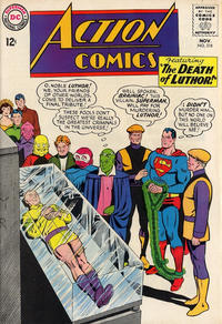Cover Thumbnail for Action Comics (DC, 1938 series) #318