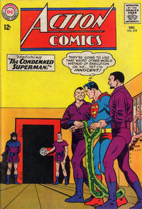 Cover Thumbnail for Action Comics (DC, 1938 series) #319