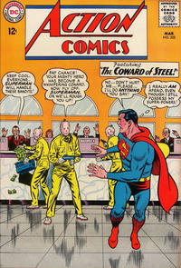 Cover Thumbnail for Action Comics (DC, 1938 series) #322