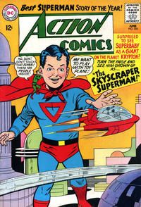 Cover Thumbnail for Action Comics (DC, 1938 series) #325