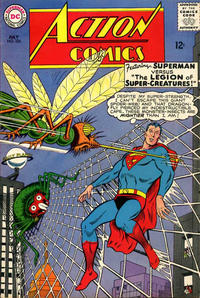 Cover Thumbnail for Action Comics (DC, 1938 series) #326