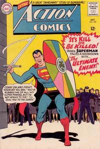 Cover Thumbnail for Action Comics (DC, 1938 series) #329