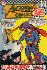 Cover Thumbnail for Action Comics (DC, 1938 series) #333
