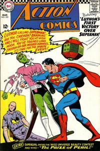 Cover Thumbnail for Action Comics (DC, 1938 series) #335