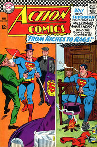 Cover Thumbnail for Action Comics (DC, 1938 series) #337