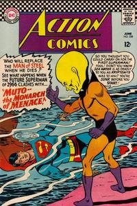 Cover Thumbnail for Action Comics (DC, 1938 series) #338
