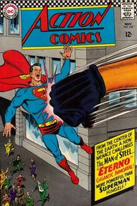 Cover Thumbnail for Action Comics (DC, 1938 series) #343