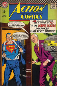 Cover Thumbnail for Action Comics (DC, 1938 series) #345