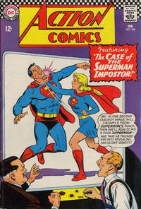 Cover Thumbnail for Action Comics (DC, 1938 series) #346