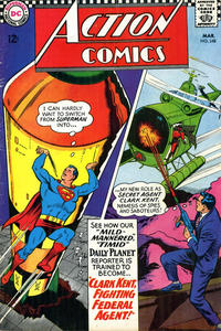 Cover Thumbnail for Action Comics (DC, 1938 series) #348