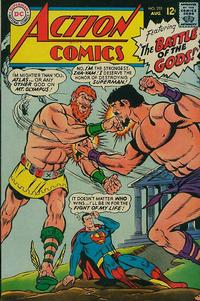 Cover Thumbnail for Action Comics (DC, 1938 series) #353