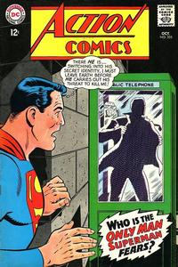 Cover Thumbnail for Action Comics (DC, 1938 series) #355