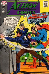 Cover Thumbnail for Action Comics (DC, 1938 series) #356