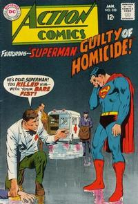 Cover Thumbnail for Action Comics (DC, 1938 series) #358