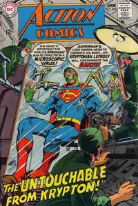 Cover Thumbnail for Action Comics (DC, 1938 series) #364
