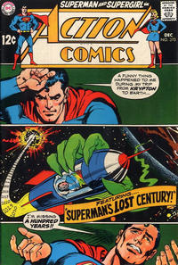 Cover Thumbnail for Action Comics (DC, 1938 series) #370