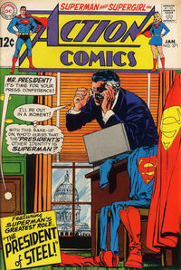 Cover for Action Comics (DC, 1938 series) #371