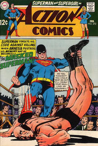 Cover Thumbnail for Action Comics (DC, 1938 series) #372