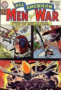 Cover Thumbnail for All-American Men of War (DC, 1952 series) #90