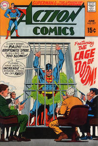 Cover Thumbnail for Action Comics (DC, 1938 series) #377